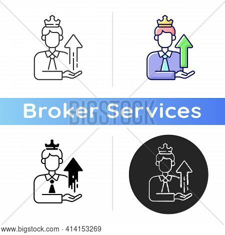 Power Broker Icon. Increase Influence From Assistance. Gain Patronage, Increase Privilege. Benefit F