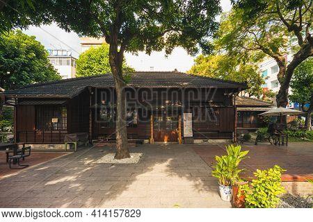 January 12, 2021: Yunlin Story House In Huwei Township, Yunlin, Taiwan, Originally Constructed In 19