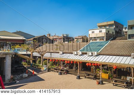 January 13, 2021: Xiluo East Market Located At Yanping Old Street In Xiluo Township, Yunlin County,