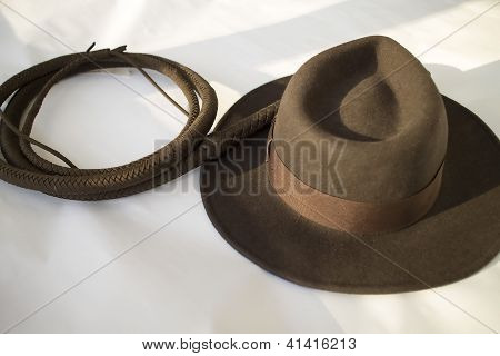 Hat And Whip