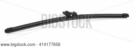 Frameless Modern Frameless Car Wiper Isolated On White Background With Clipping Path