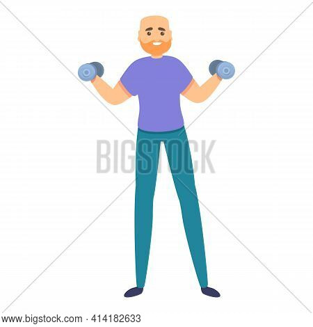 Fitness Slimming Icon. Cartoon Of Fitness Slimming Vector Icon For Web Design Isolated On White Back