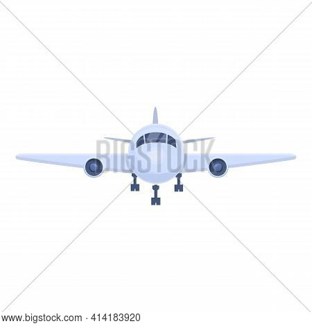 Plane Charter Icon. Cartoon Of Plane Charter Vector Icon For Web Design Isolated On White Background