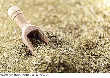 Yerba Mate, Also Called Mate Or Congonha, Consumed As Mate Tea, Chimarrão Or Tereré