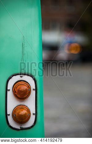 Vintage Car Rear Turn Signal