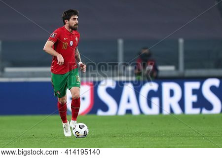 Torino, 24th March 2021 . Ruben Neves Of Portugal  During The Fifa World Cup 2022 Qualifiers Match B