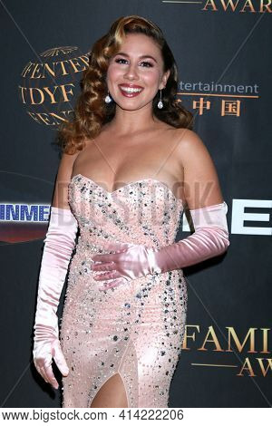 LOS ANGELES - MAR 24:  Haley Reinhart at the 14th Family Film Awards at the Universal Hilton Hotel on March 24, 2021 in Universal City, CA