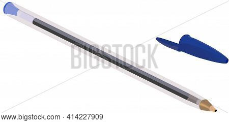 Blue Ballpoint Pen Blue Ballpoint Pen Blue Ballpoint Pen Blue Ballpoint Pen