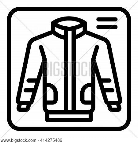 Donate Garment Icon. Outline Donate Garment Vector Icon For Web Design Isolated On White Background