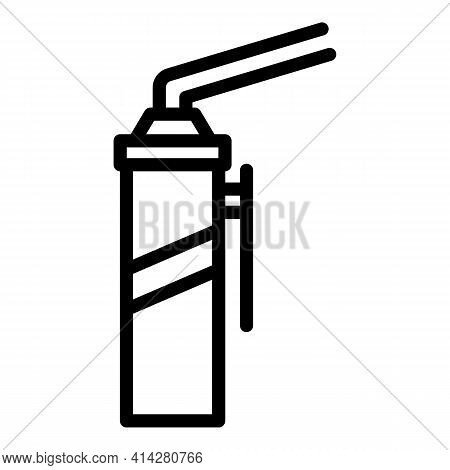 Sealant Repair Icon. Outline Sealant Repair Vector Icon For Web Design Isolated On White Background