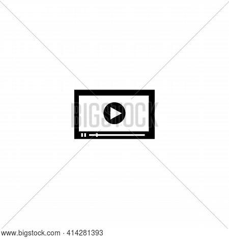 Full Screen Preview Icon Vector Logo Template Design. Vector Illustration Eps 10