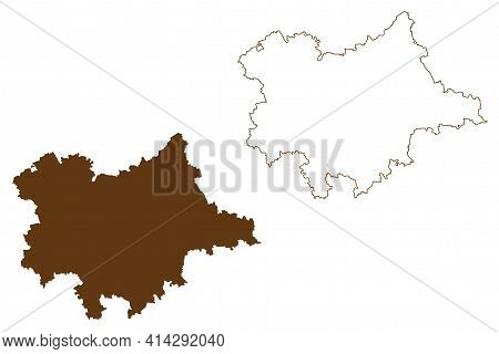 Dingolfing-landau District (federal Republic Of Germany, Rural District Lower Bavaria, Free State Of