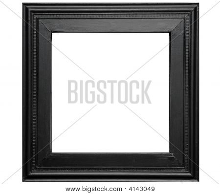 Rustic Black Photo Frame