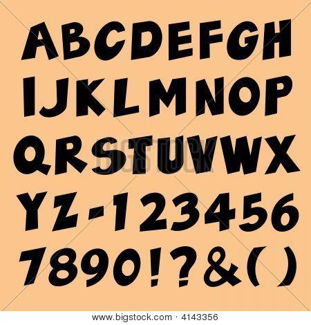 Alphabet 1 Vector.Eps