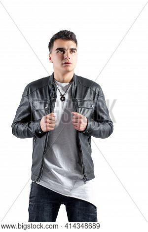 Fashion Portrait Of Young Handsome Man. Cool Rap Dj, Electro House Music, Deep House, Mens Fashion S