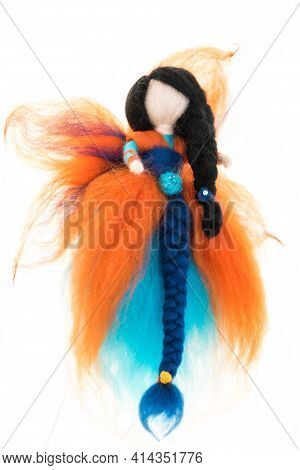 Felted Fairy-tale Fairy - Homemade Fairy Tale Characters And Creatures