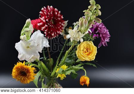 Flower Photography At Home, Bouquet, Posy, Nosegay