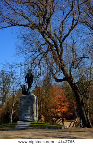 Walking To Battle, North Bridge, Minute Man National Park, Concord, Ma