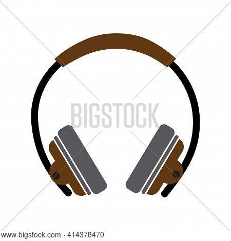 Headphone Icon, Headphone Icon Vector, In Trendy Flat Style Isolated On White Background. Headphone