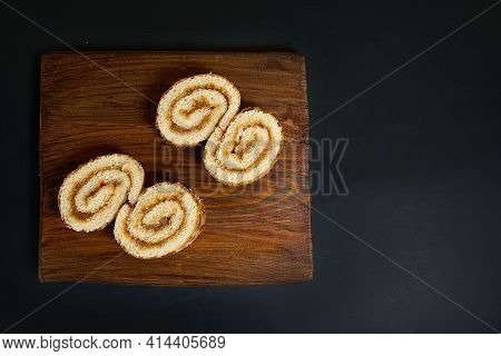 A New Concept In Food Photography, An Exclusive Vision Of The Composition In The Style Of Suprematis