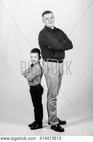 Father Little Son. Best Friends. Dad And Adorable Child. Parenthood Concept. Fathers Day. Father Exa