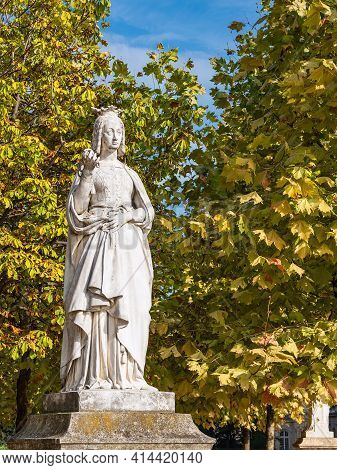 Sculpture In The Park Jardin Du Luxembourg In Paris, France.