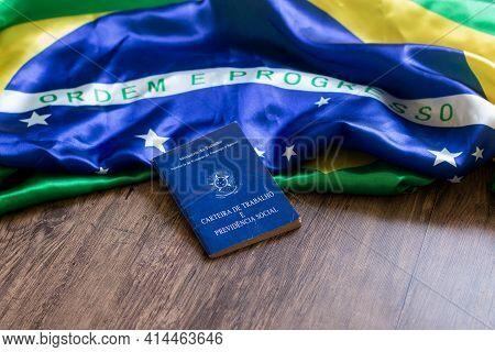 Brazilian Portfolio Of Work On The Brazilian Flag.
