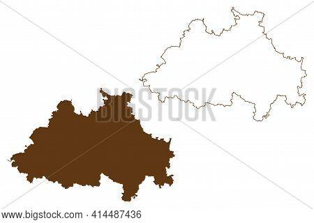 Eichstatt District (federal Republic Of Germany, Rural District Upper Bavaria, Free State Of Bavaria