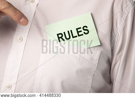Word Rules, Concept Of Regulations And Guideline, Management.