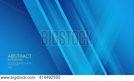 Blue Abstract Background, Polygon Vector Background, Graphic Design, Minimal Texture, Cover Design,