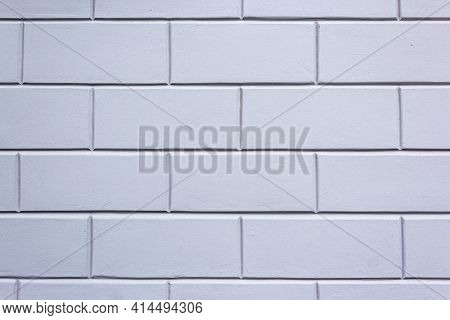 Corrugated Sheet Metal, Badly Painted With Gray Paint For Background. Metal Corrugated Roofing Sheet