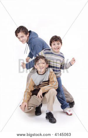 Three Boys And Fashion