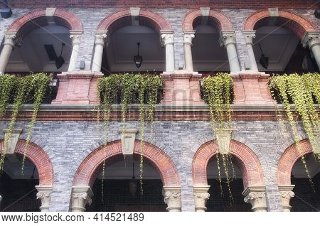 Tradiitional Shikumen Architecture In The French Concession Area Of Puxi In Shanghai China