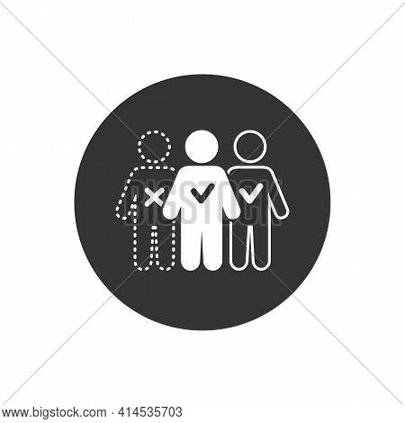 Absent Vector Illustration Can Be Used For Topics Attendance, Absent, Meeting Icon Concept