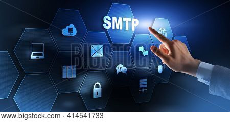 Simple Mail Transfer Protocol. Communication Protocol For Electronic Mail Transmission