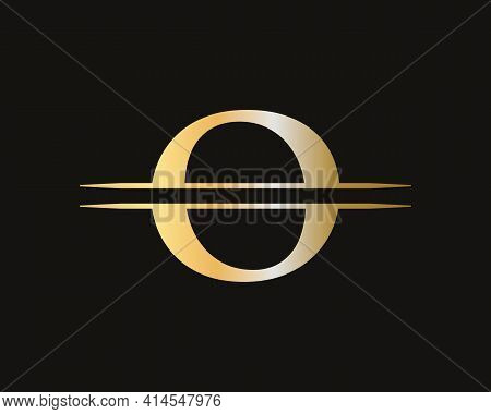 Letter O Logo Design For Business And Company Identity. Creative O Letter With Luxury Concept