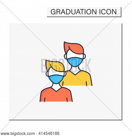 Junior Color Icon. Younger Student. Freshman, First-year Student. Protection From Other People. Trai