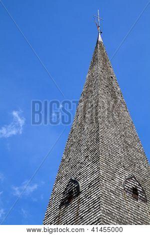 Historic Bavarian church steeple