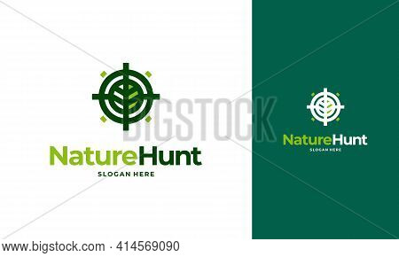 Nature Hunter Logo Designs Concept Vector, Agriculture Logo Designs, Farm Icon Symbol
