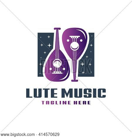 Lute Musical Instrument Logo Design Your Company