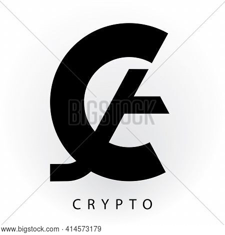 Cryptocurrency, Digital Decentralized Payment Technology Tokens Logo, Icon, Symbol, Brand, Industry