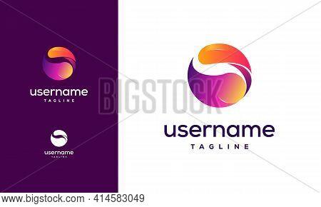 Creative Circle Vector Logo Design Template, Abstract Sphere Logo Vector