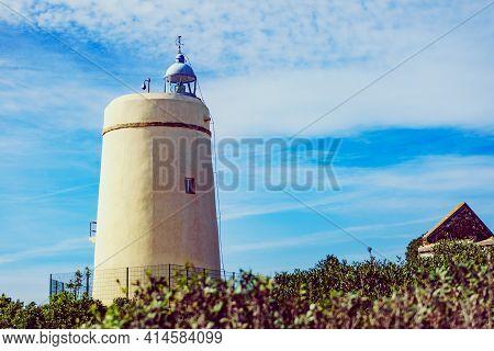 Carbonera Lighthouse, Punta Mala, La Alcaidesa, Spain.