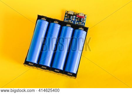 18650 Pack Battery Charger, Diy Power Bank Electronic Device Charger .