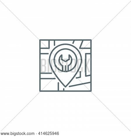 Car Service Icon Isolated Background. Auto Mechanic Service. Repair Service Auto Mechanic. Maintenan