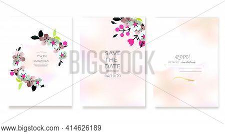 Dusty Pink And Ivory Beige Rose, Pale Hydrangea, Fern, Dahlia, Ranunculus, Fall Leaf Bunch Of Flower