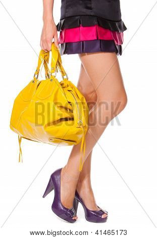 Legs And A Bag