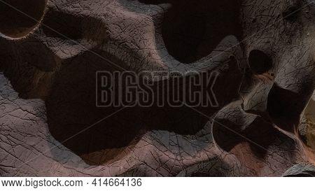 Cave Relief Unusual Pattern Screensaver Rock Art