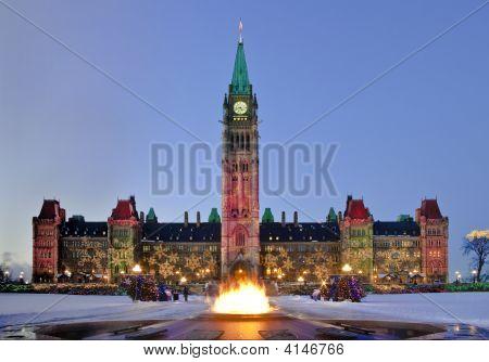 Snowy Parliament