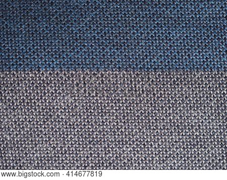 Grey Fabric Texture Useful As A Background